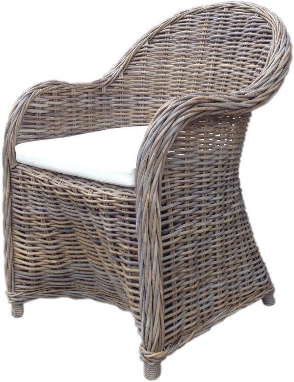 Rotan stoel 60 x 72 x 88   Relaxgarden